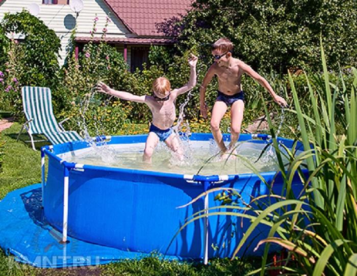 Основные преимущества сборных бассейнов для участка