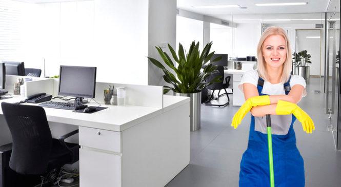 Уборка офисов : популярная клининг-услуга