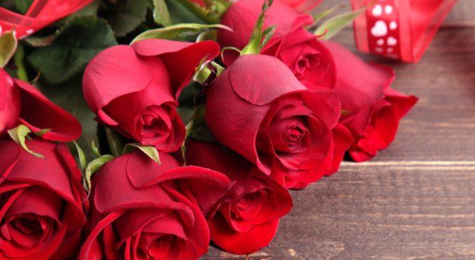 Доставка букета роз
