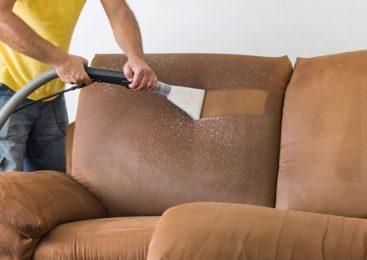 Об этапах очистки мягкой мебели