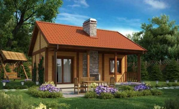 Как построить дачный домик своими руками